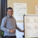 Business Coach facilitating a real estate agency strategy day